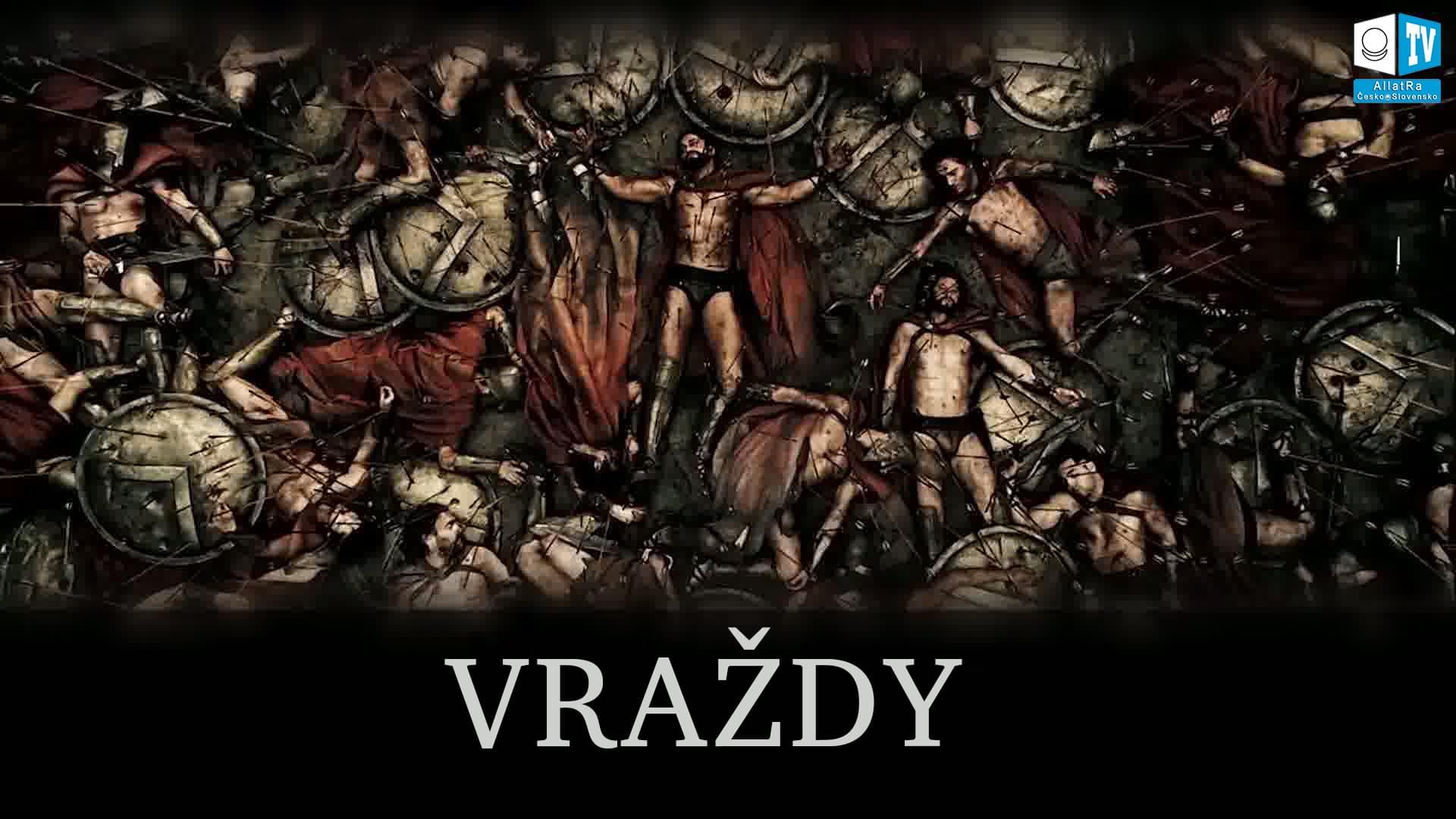 Vražda ve středověku. Foto