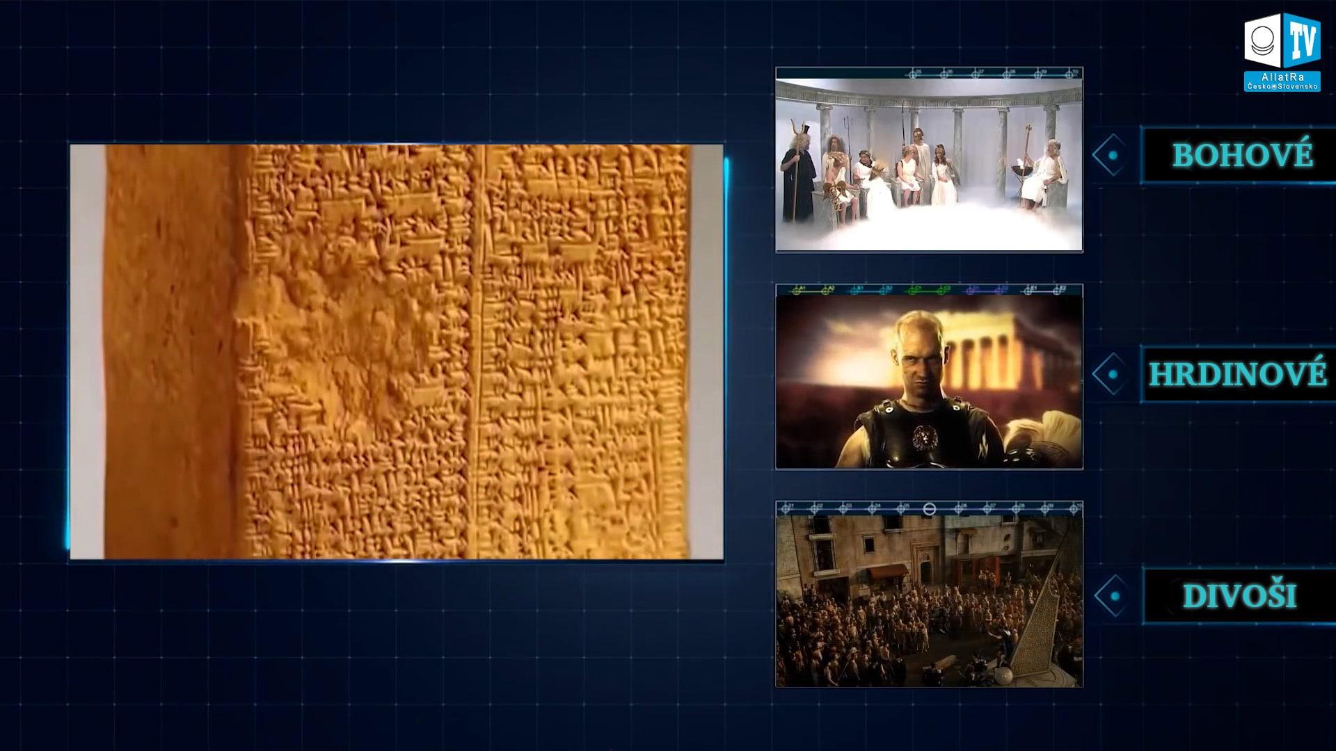 Legendy kněží starověké Mezopotámie. Foto