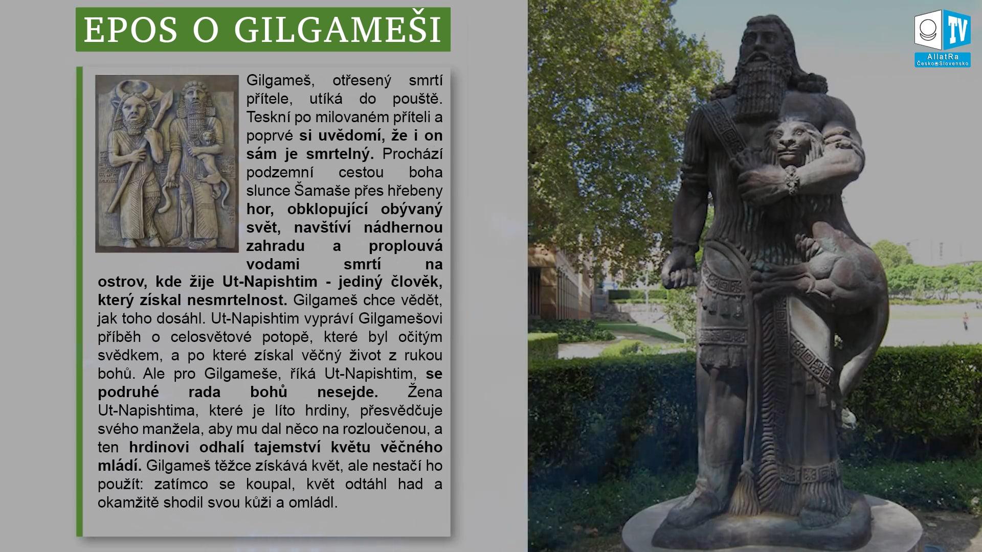 Památník Gilgameše. Foto
