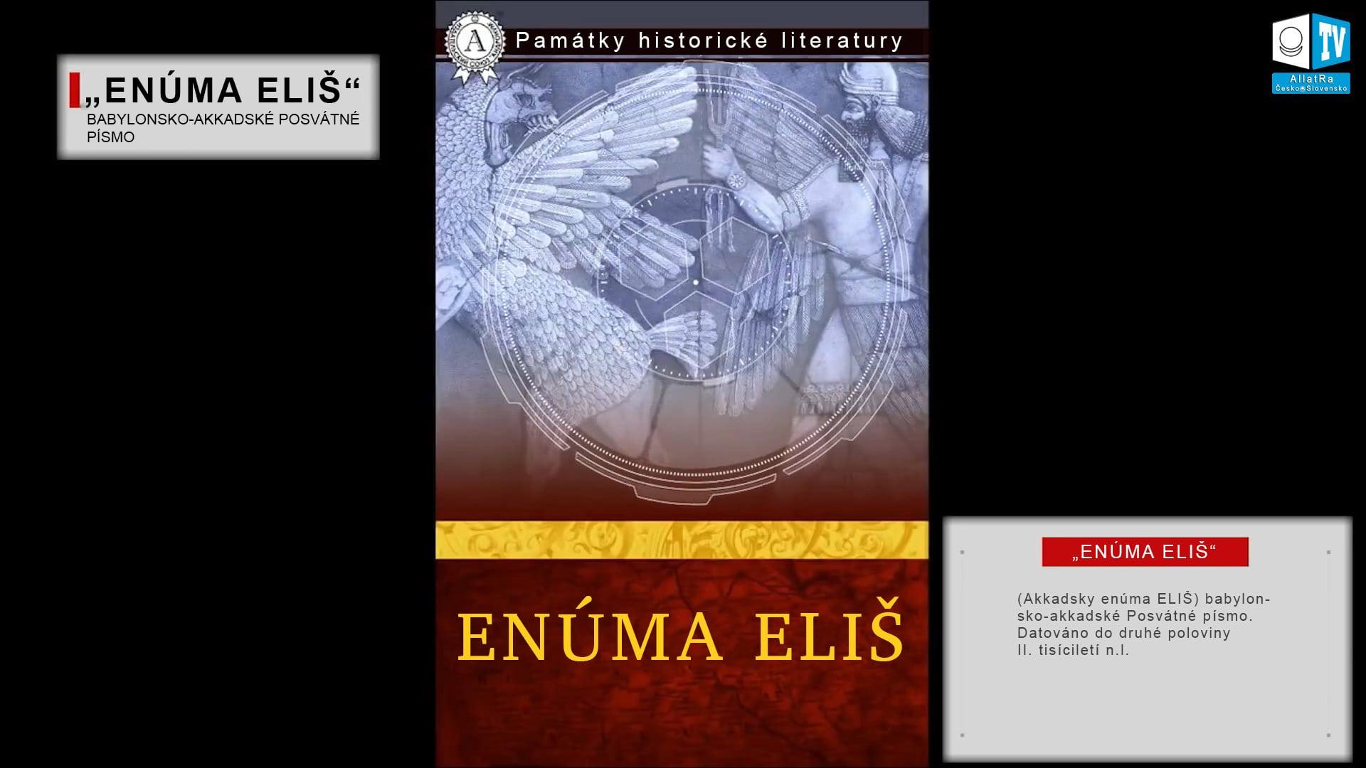 Enúma Eliš 10. Foto