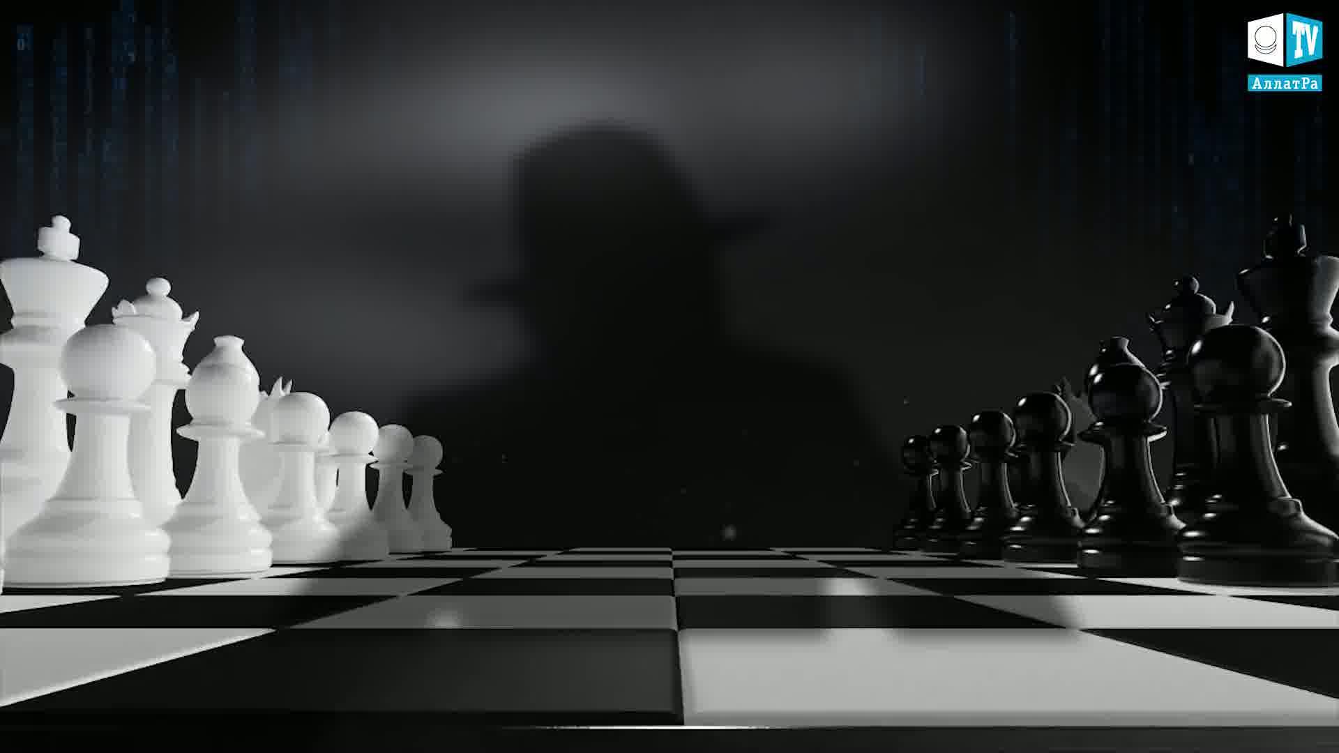 Šachy. Foto