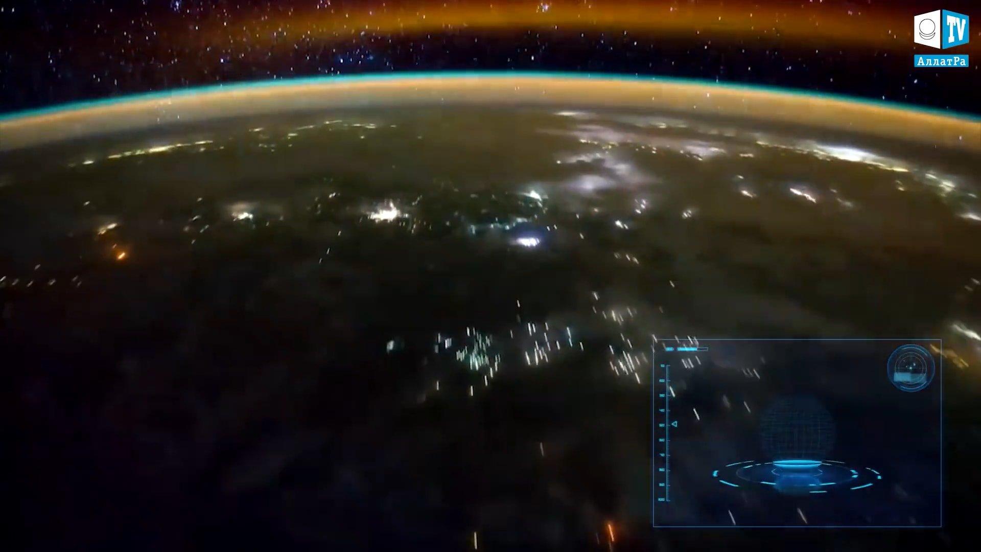 Noční planeta. Foto