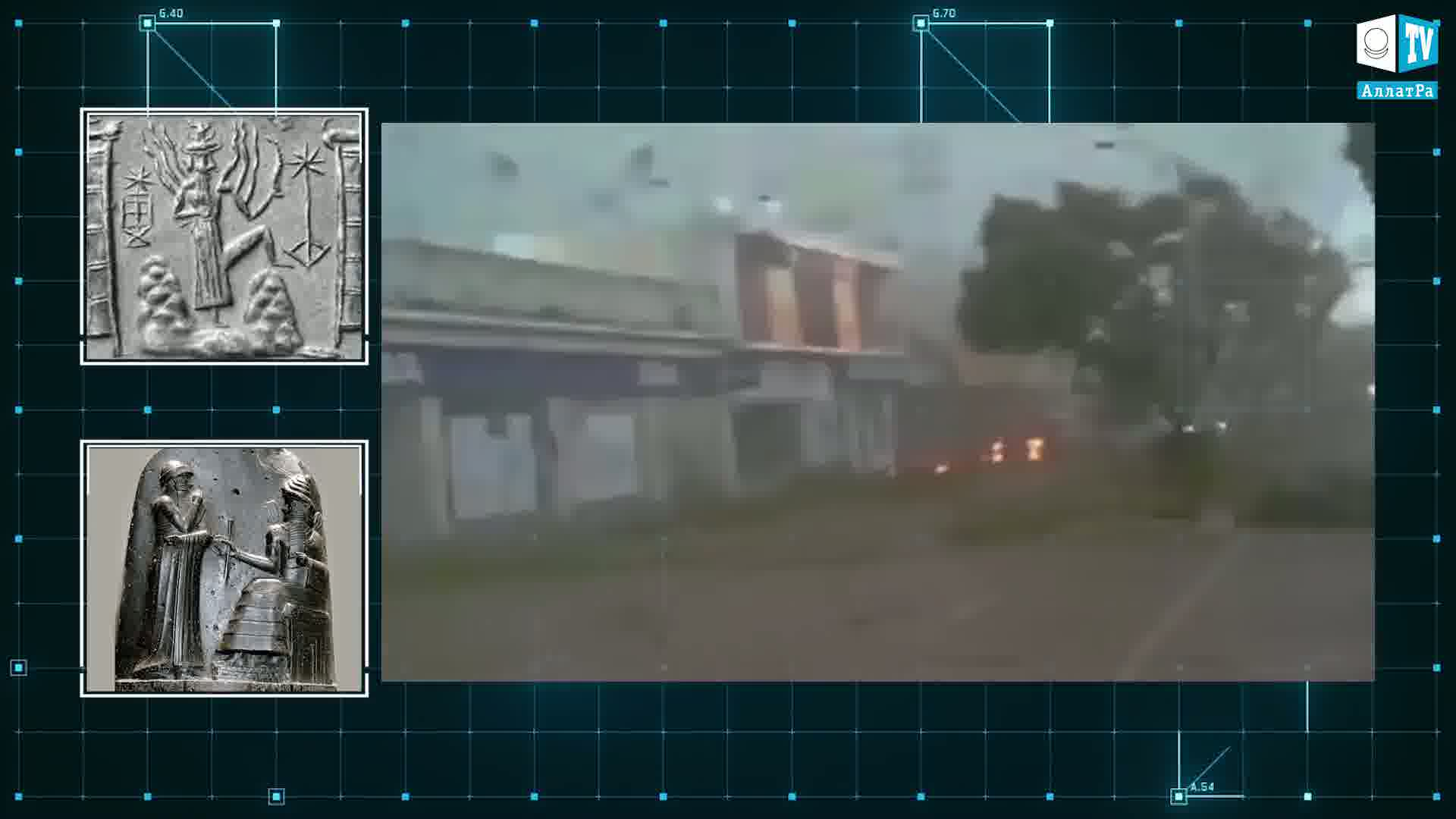 Hurikán. Foto