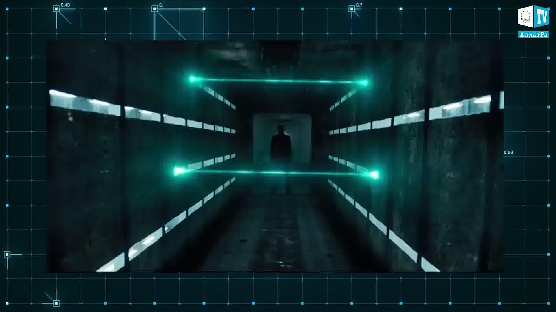 Ochrana pomocí laseru. Foto