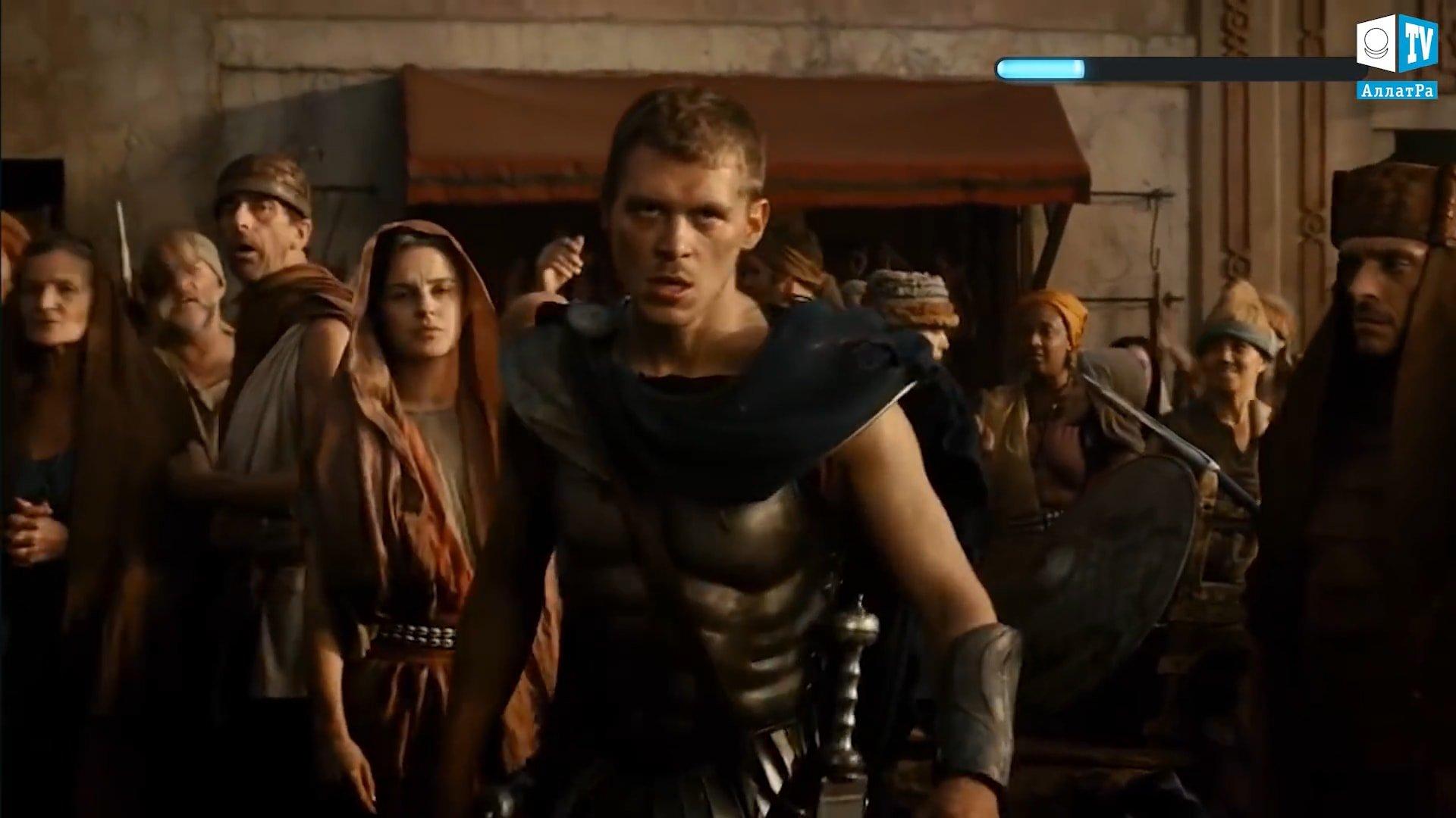 Záběry z filmu Gladiátor. Foto