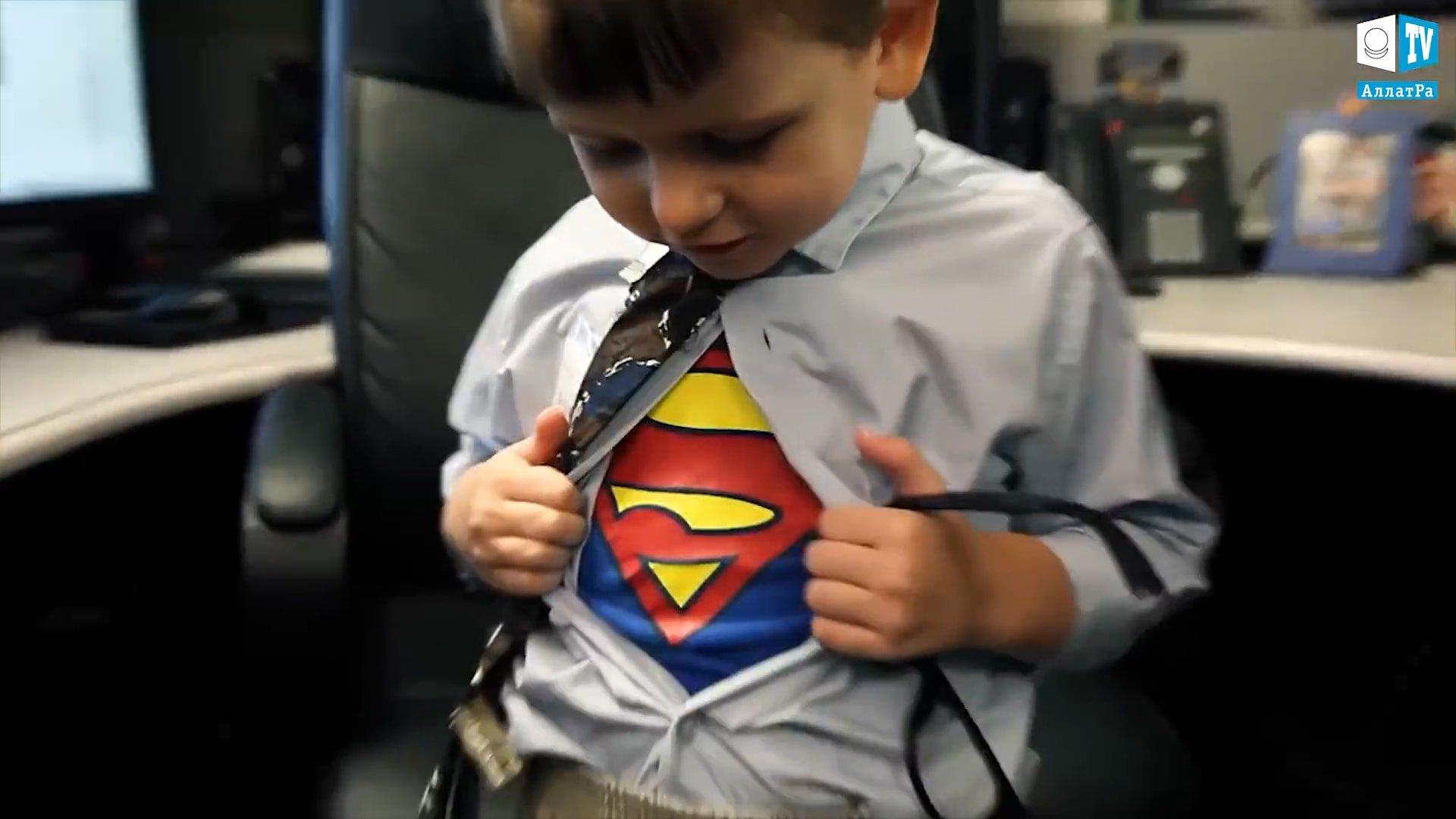 Tričko s Batmanem. Foto