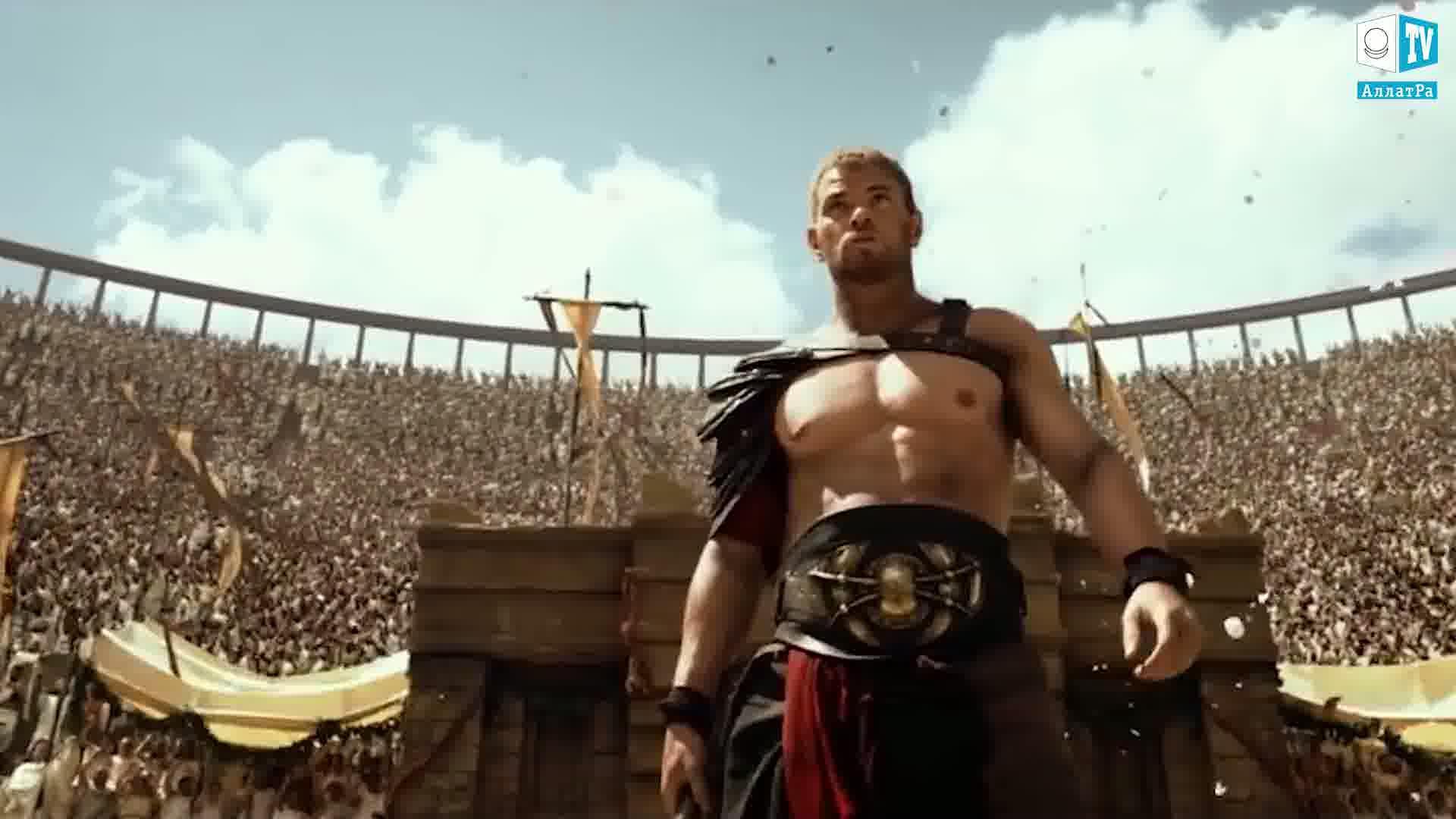 Gladiátor. Foto